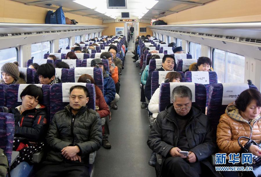 ...旅游玩的旅客.当日是农历大年初一.在郑州火车东站,乘坐高... (27)