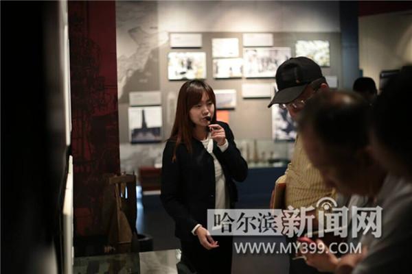 博物馆奇妙夜快播_新网快播  26日,采访团一行走进汤原县 博物馆