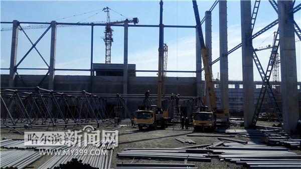 中国飞机拆解基地8月在哈投产