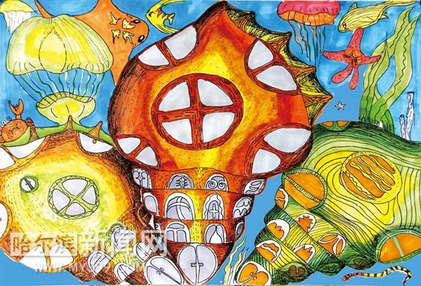 《创意绘画作品集》出版 学习美术绘画的孩子有福了图片
