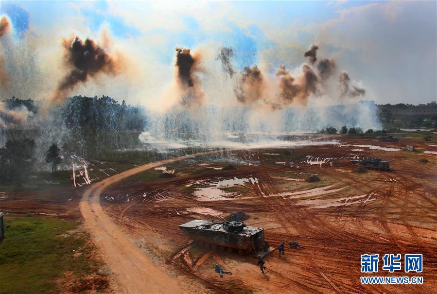 (图文互动)(1)全面重塑 浴火重生——人民军队改革强军两周年回顾
