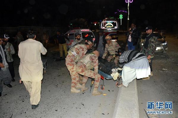 (国际)(1)巴基斯坦西南部发生炸弹袭击7人死亡