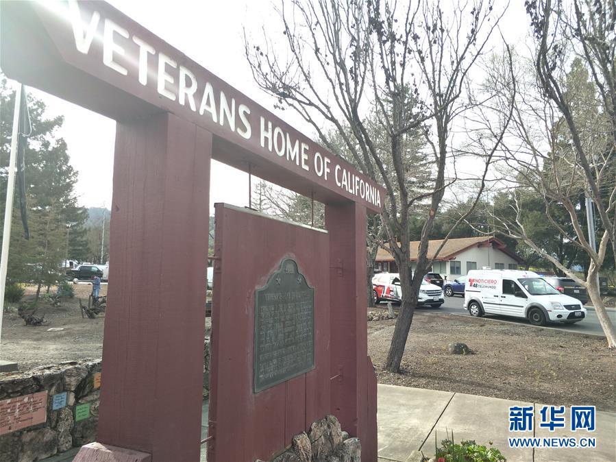 (国际)(1)美国加州一退伍军人之家发生枪击事件3人被扣为人质