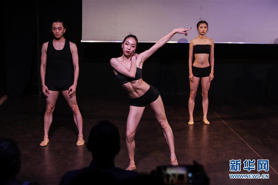 (XHDW)(1)北京当代芭蕾舞团在希腊演出