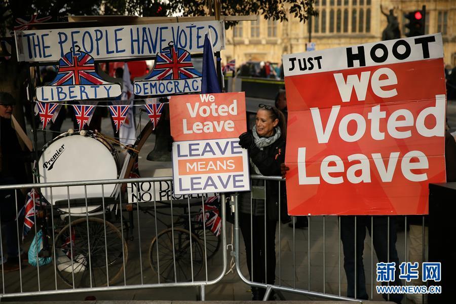 "(XHDW)(2)英国议会将于下周就""脱欧""协议举行投票"