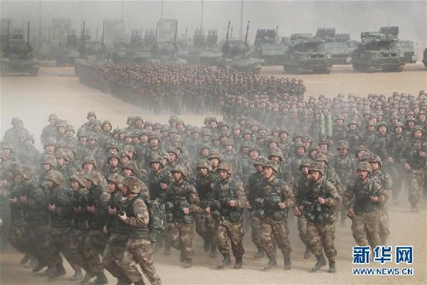 (强军思想引领新征程·图文互动)开训动员,实战化练兵热潮涌动