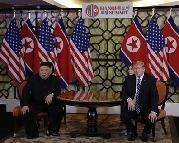 """(国际)美朝领导人河内会晤提前结束 ?#23567;?#36827;展""""无""""协议"""""""