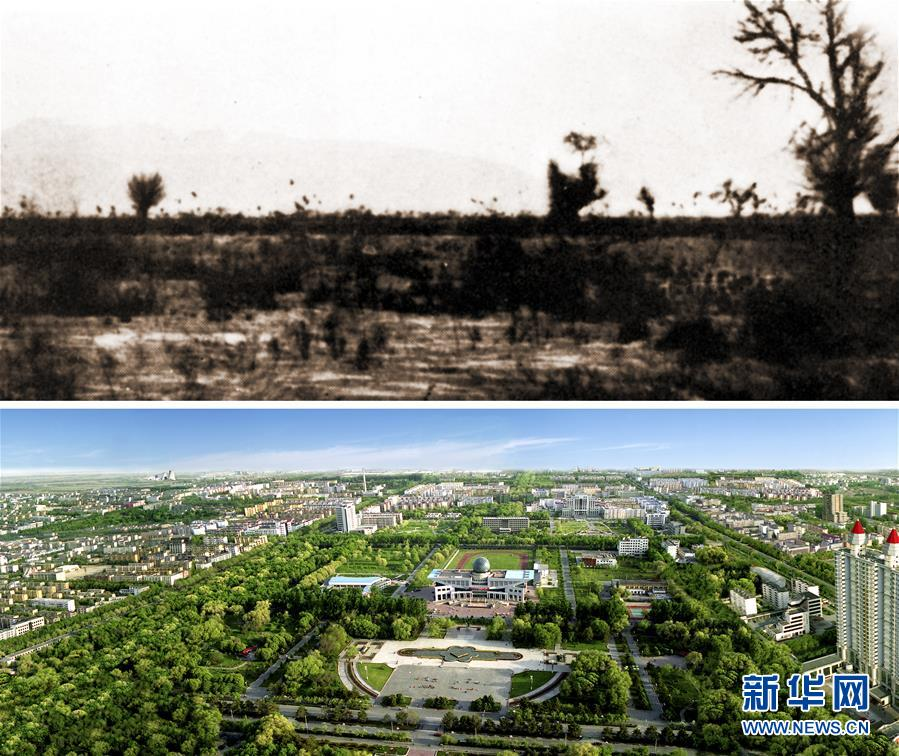 (壮丽70年·奋斗新时代·图文互动)(1)从无人之地到宜居之城——新疆兵团八师石河子市走出高质量发展之路