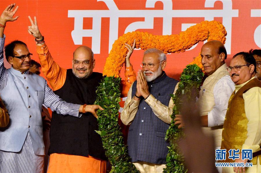 (国际)(1)印度人民党在全国大选中获胜
