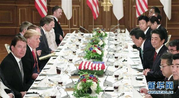 (国际)日美首脑会谈未就贸易谈判实质问题达成一致
