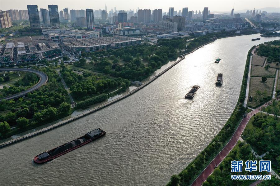 """(新华全媒头条·图文互动)(5)倾听大河新生的""""脉动""""——写在中国大运河申遗成功五周年之际"""
