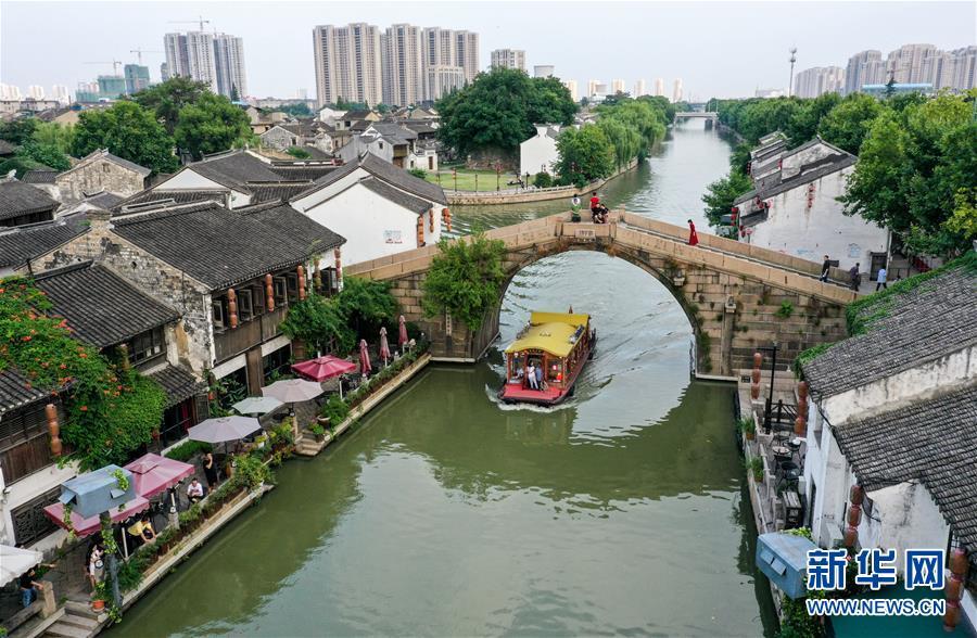 """(新华全媒头条·图文互动)(15)倾听大河新生的""""脉动""""——写在中国大运河申遗成功五周年之际"""