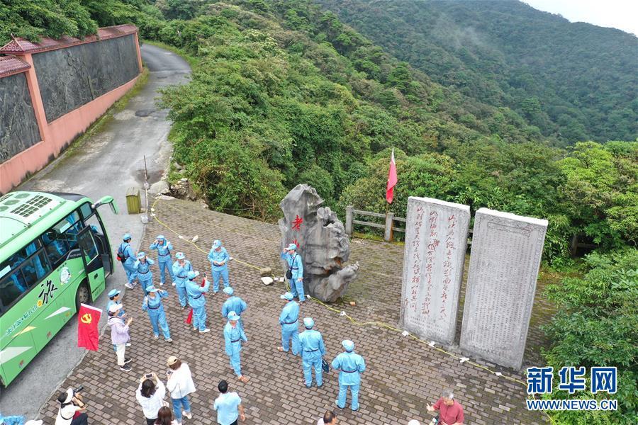 (壮丽70年·奋斗新时代——记者再走长征路·图文互动)(3)没有红军逾越不了的山河