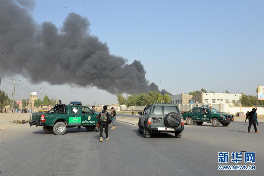 (国际)(3)阿富汗坎大哈省警察总部遭汽车炸弹袭击
