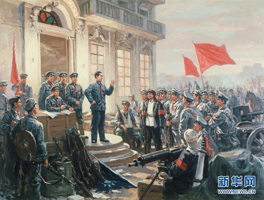 (新华全媒头条·图文互动)(5)我们是一支不可战胜的力量——献给中国人民解放军建军92周年