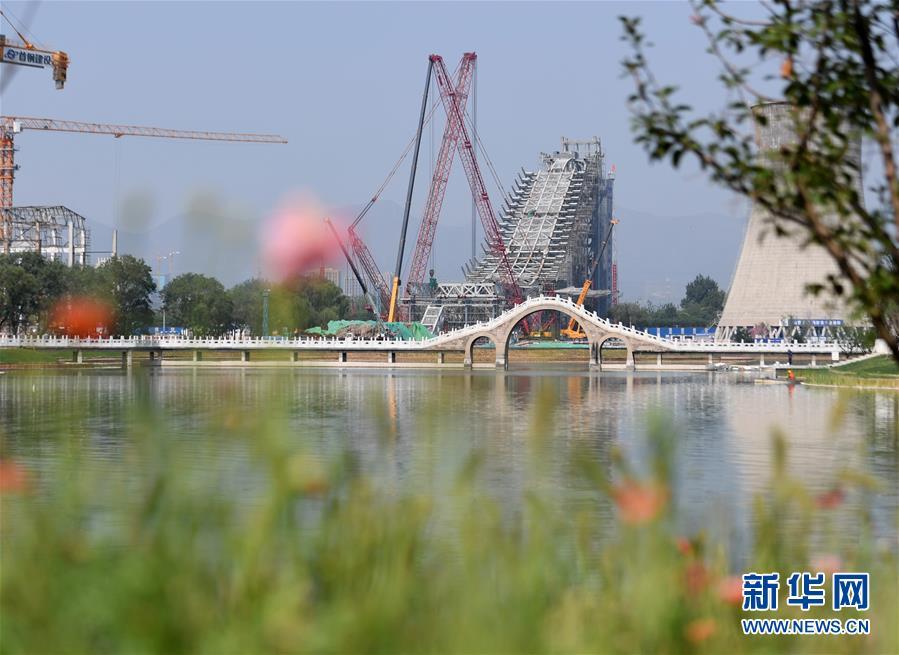 (壮丽70年·奋斗新时代——共和国发展成就巡礼·图文互动)(8)千年古城崛起大国首都——北京70年跨越式发展纪实
