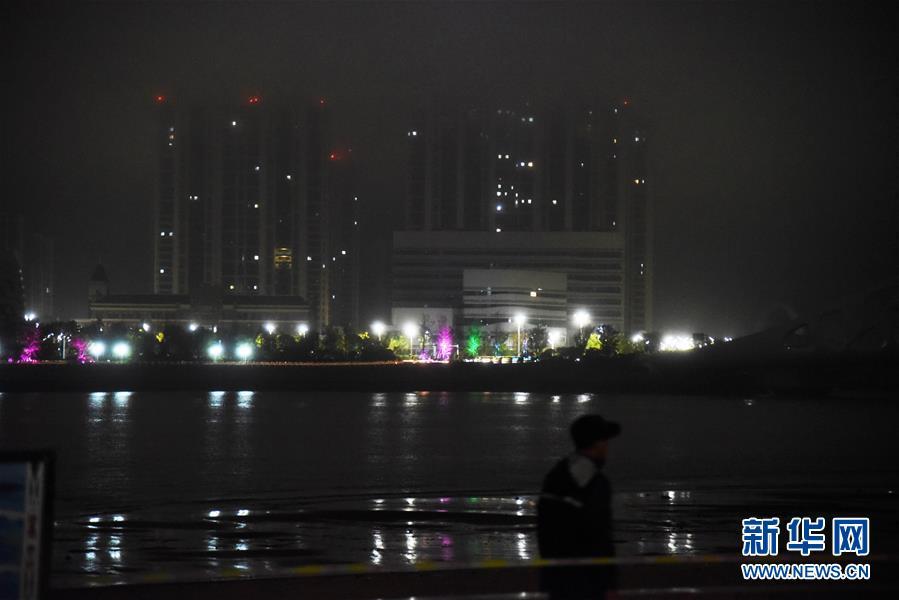 """(关注""""利奇马""""·图文互动)(3)台风""""利奇马""""在山东青岛再次登陆 山东26座水库超汛限水位"""