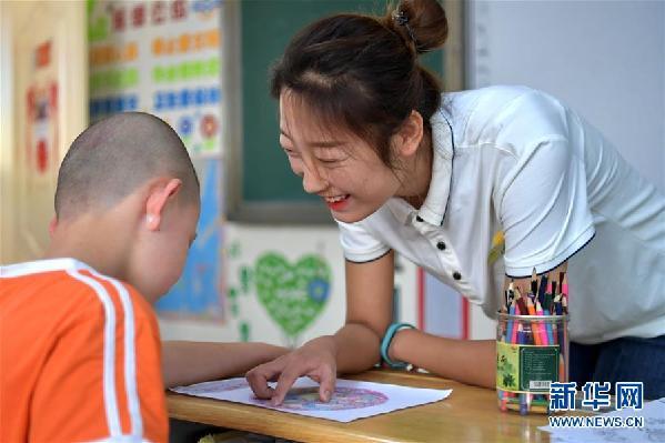 (在习近平新时代中国特色社会主义思想指引下——新时代新作为新篇章·总书记关心的百姓身边事·图文互动)(4)特别的爱,给特别的你——特殊教育的别样风景