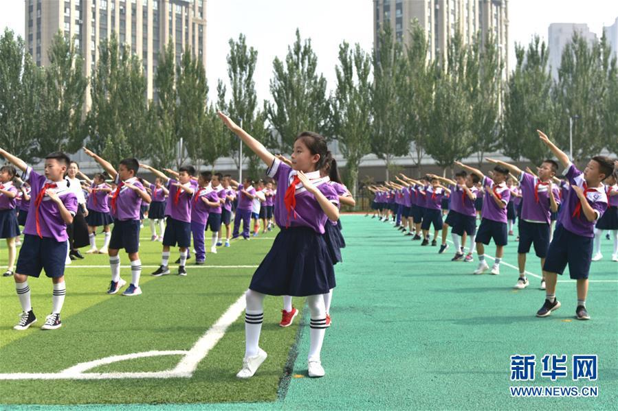 (体育·图文互动)(1)(在习近平新时代中国特色社会主义思想指引下——新时代新作为新篇章·总书记关心的百姓身边事)奔跑吧,少年!——体育让孩子们插上强壮的翅膀(配本社同题文字稿)