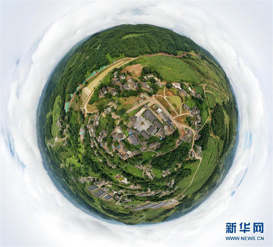 (新华全媒头条·图文互动)(14)沧海桑田——三重景别的贵州乡村新画卷