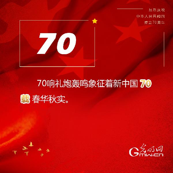 图解:数观庆祝中华人民共和国成立70周年大会