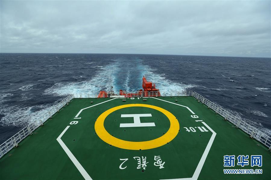 """(""""雪龙""""探南极·图文互动)(1)""""雪龙2""""号首次进入南极地区"""