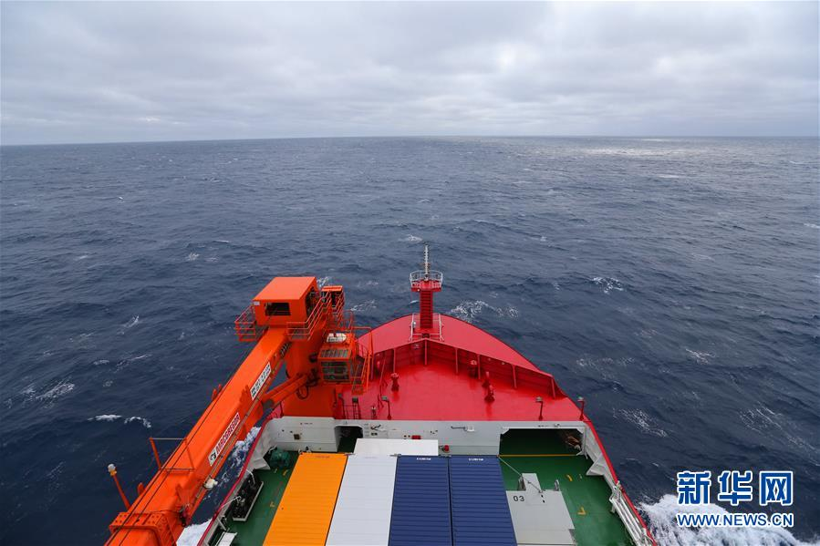 """(""""雪龙""""探南极·图文互动)(2)""""雪龙2""""号首次进入南极地区"""