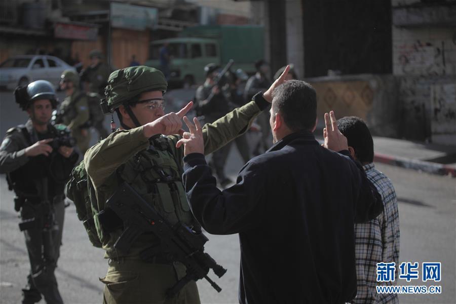 (国际)(2)巴勒斯坦民众游行集会抗议美国改变犹太人定居点政策