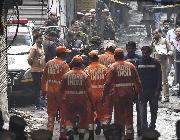 (国际)(1)印度一商业楼发生火灾致32人死亡