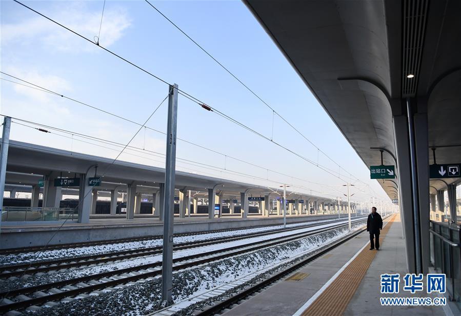 (社会)(4)京张高铁张家口站即将投入使用
