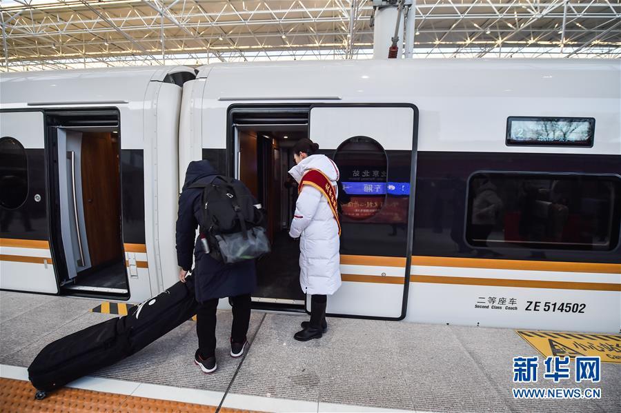 (新华全媒头条·图文互动)(6)百年跨越,逐梦京张——写在京张高铁开通暨中国高铁突破3.5万公里之际