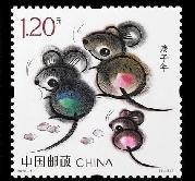 (圖文互動)(4)可愛萌動的《庚子年》特種郵票來了