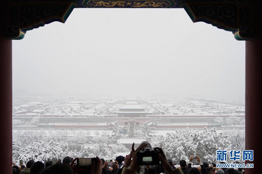 (环境)(6)雪后北京