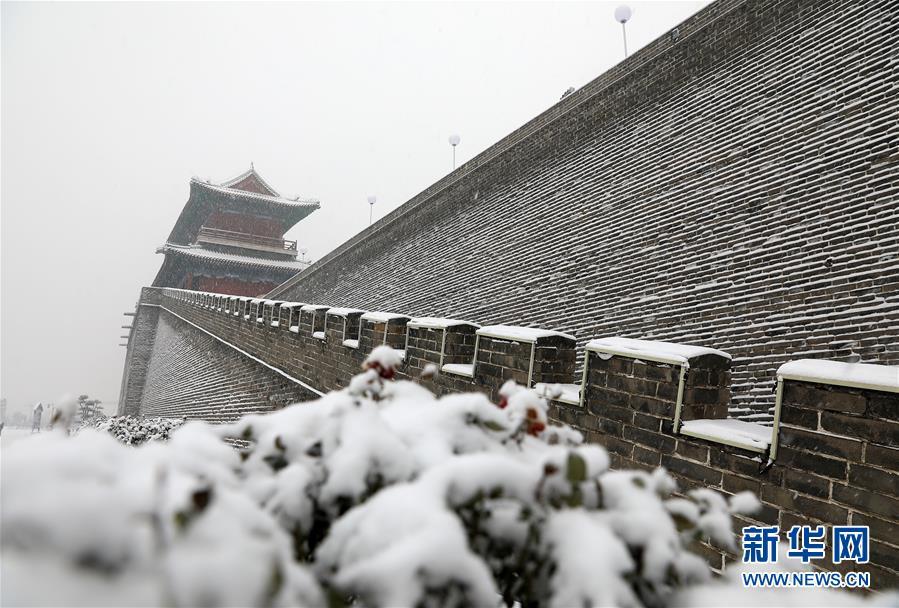 #(环境)(4)河北石家庄:正定古城赏雪
