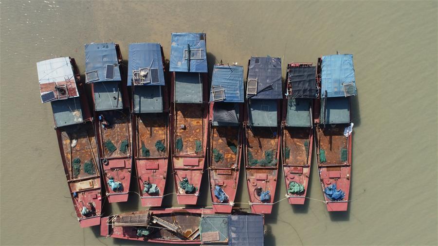 """(新春走基层·大湖之变·图文互动)(1)渔民""""三变""""——鄱阳湖畔转产见闻"""