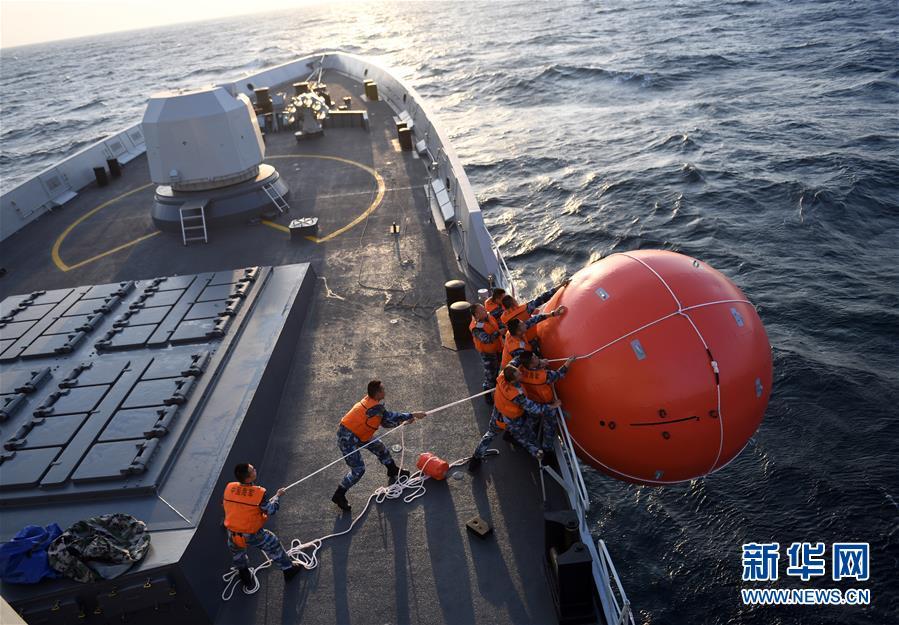 """(国际·图文互动)(4)""""海洋卫士-2020""""中巴海上联合演习闭幕"""