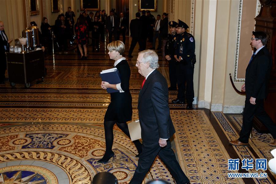 (国际)(1)美国国会参议院开始正式审理特朗普弹劾案