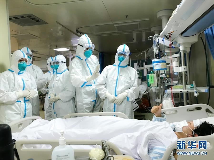 (新华全媒头条·图文互动)(6)凡人亦英雄——连线一线医护人员