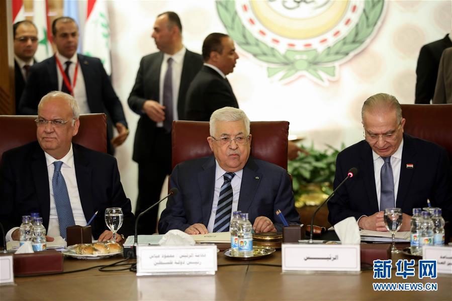 (国际)巴勒斯坦总统说将断绝与以色列和美国一切关系