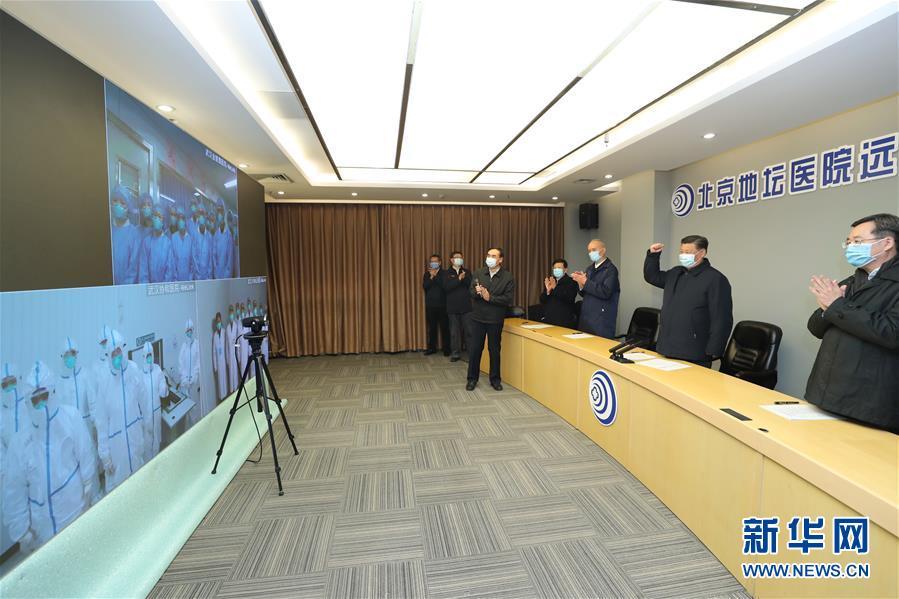 (时政)(2)习近平在北京市调研指导新型冠状病毒肺炎疫情防控工作