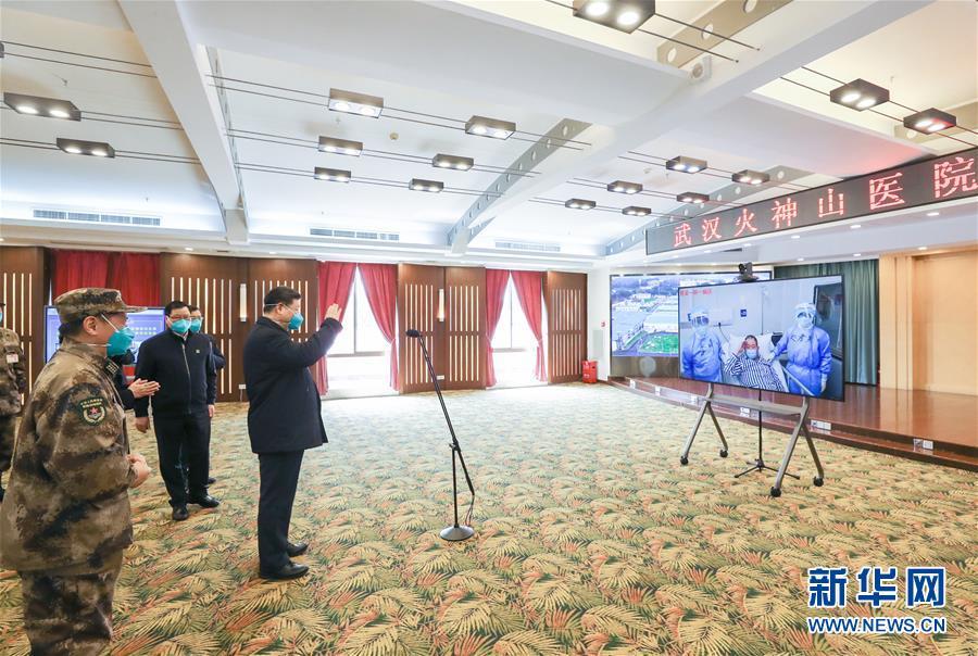 (时政)(12)习近平在湖北省考察新冠肺炎疫情防控事情