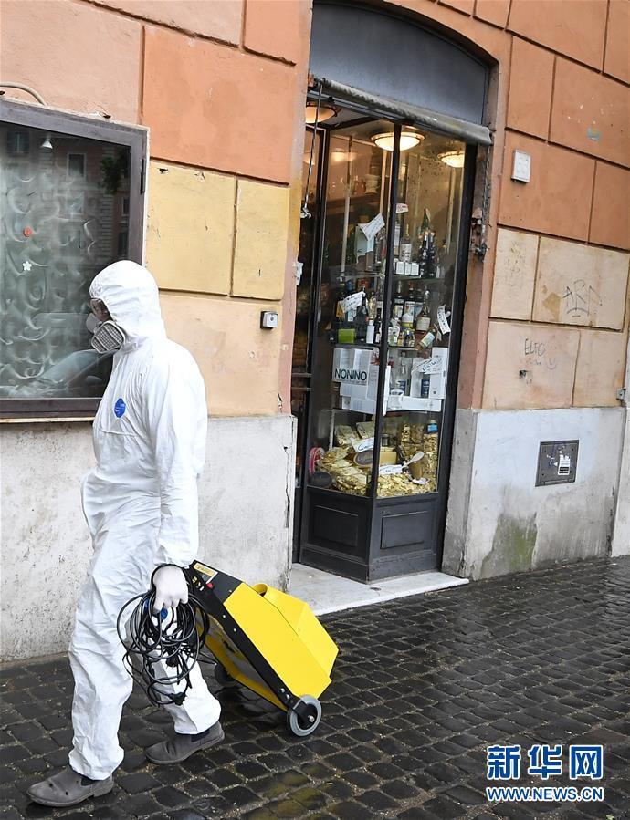 (国际疫情)(1)意大利死亡病例超过2.1万例 部分商店恢复营业