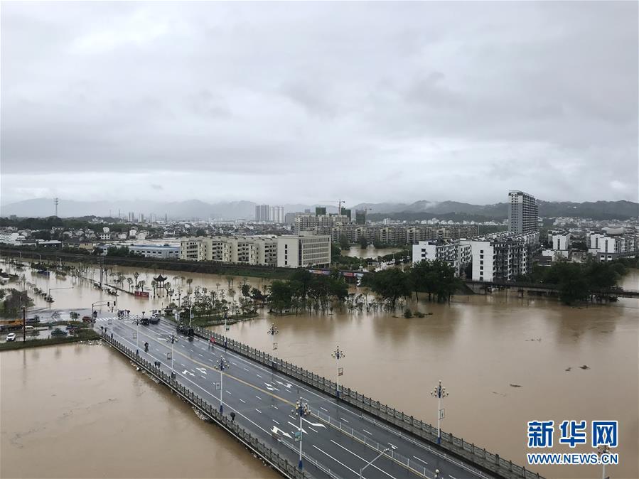 (环境)(2)安徽歙县遭遇特大洪涝灾害