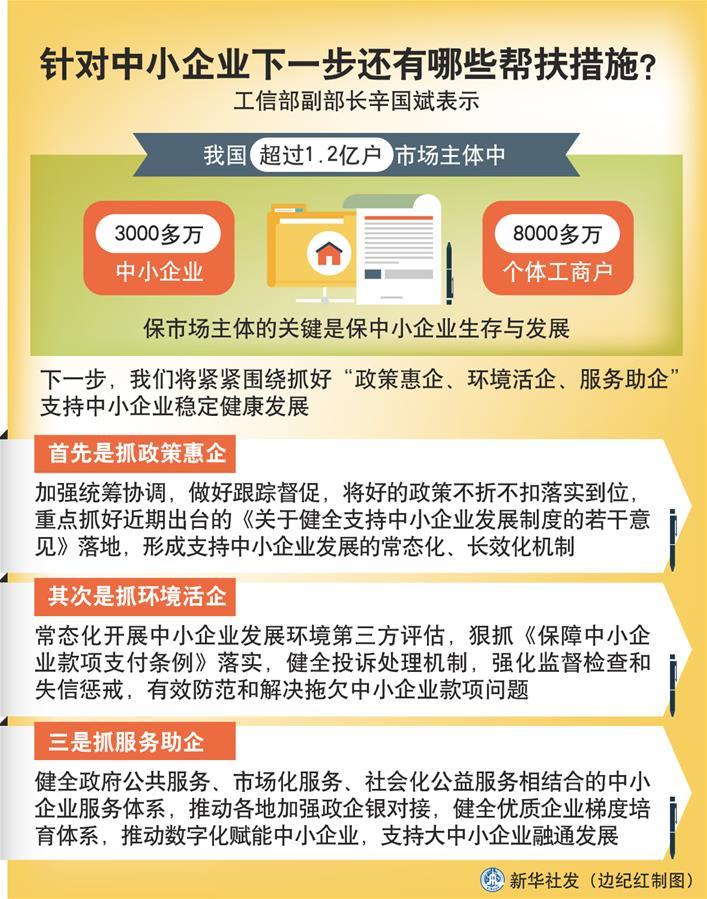 (图表)[权威访谈]针对中小企业下一步还有哪些帮扶措施?