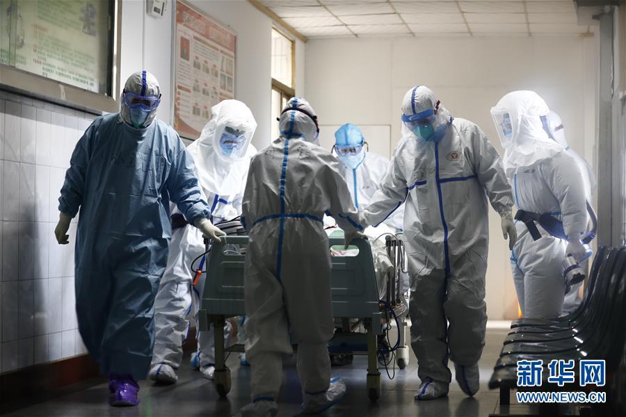 (抗疫一线医务人员英雄群体·图文互动)(1)一切为了人民健康——中部战区总医院党员突击队抗击新冠肺炎疫情记事