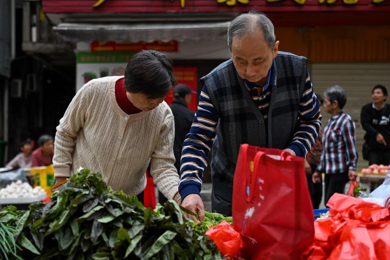 2020年11月23日,三明市广源路菜市场。