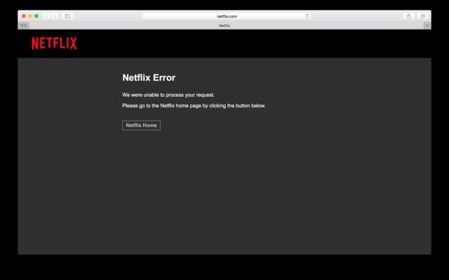 Netflix服务意外终止 惹恼用户