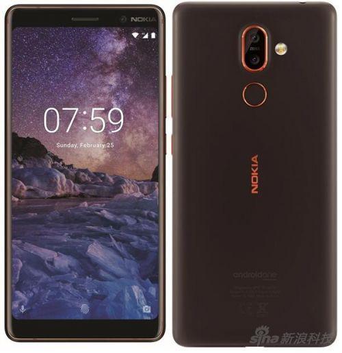 据说Nokia 7 Plus是这样的